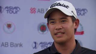 2018 AB Bank Bangladesh Open-Rd 1 interview with Rattanon