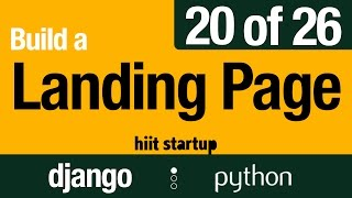20 of 26 | Making Pages Featured & Active | Hiit Startup | Django Tutorial