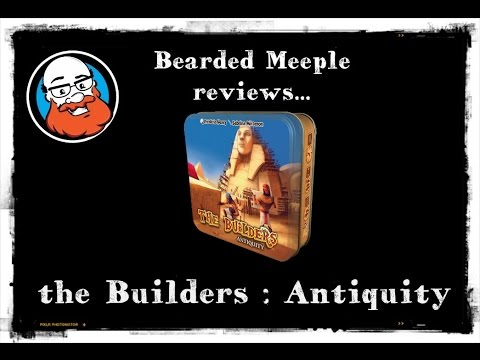 Bearded Meeple reviews the Builders : Antiquity