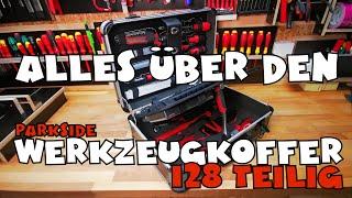Alles über den: PARKSIDE® Werkzeugkoffer 128-teilig