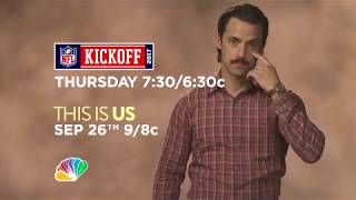 Double promo  This Is Us / Sunday Night Football [VO]