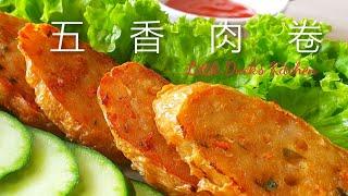五香肉卷❤ [详细做法] ❤ How to make Ngoh Hiang Lobak (Spiced meat rolls recipe)