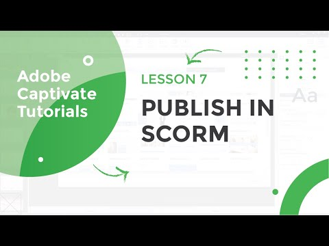 Publish Course in SCORM in Adobe Captivate 2019 - YouTube