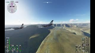 Formation flight with FRYFPV (TDM 930) Microsoft Flight Simulator 2020 PART 1