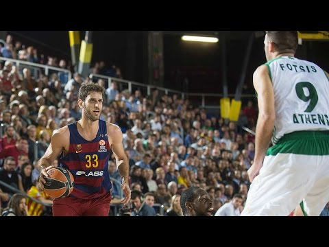 Highlights: RS Round 3, FC Barcelona Lassa 77-52 Panathinaikos Athens