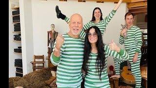 Bruce Willis Y Demi Moore Pasan La Cuarentena Juntos