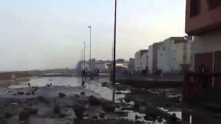 preview picture of video 'Exclusive   Mini tsunami Maroc sidi moussa, salé'