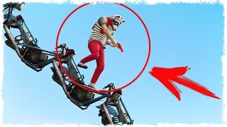 НЕВЕРНЫЙ ШАГ И ТЫ ТРУП - GTA 5 ONLINE!!! #364 (ЭПИК, УГАР В ГТА 5 ОНЛАЙН)