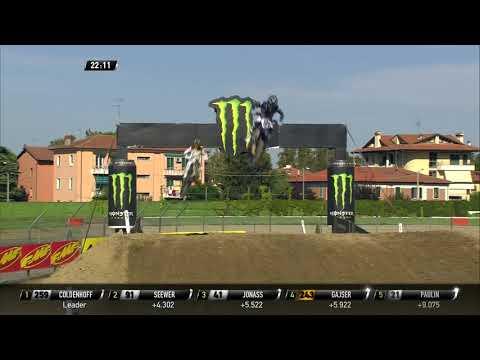 Gajser vs Jonass - MXGP Race 2 - MXGP of Italy - Imola 2019