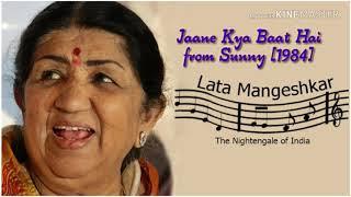 Jaane kya baat hai song form Sunny (1984) Lata Mangeshkar best song ever most beautiful Hindi songs