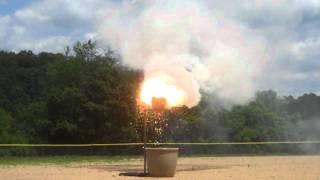 Aluminum & Iron Oxide Thermite
