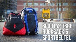 Sportastisch Rucksack und Turnbeutel REVIEW auf Deutsch