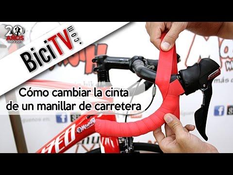 Cómo poner la cinta de manillar en la bici de carretera