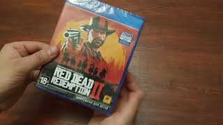 RED DEAD REDEMPTION 2 - распаковка игры