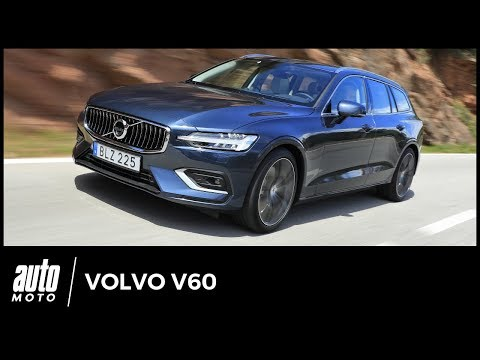 Volvo V60 (Essai) : sérénité suédoise