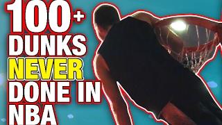 Over 100 Dunks NEVER Done In NBA Dunk Contest By 6'1 Jordan Kilganon!