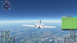 Flying above Yosemite National Park Live Microsoft Flight Simulator