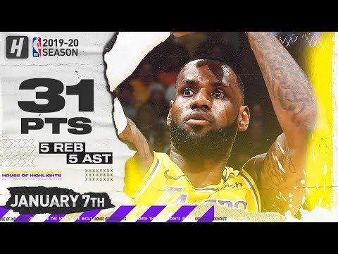 Download LeBron James 31 Points Full Highlights | Knicks vs Lakers | January 7, 2020 Mp4 HD Video and MP3