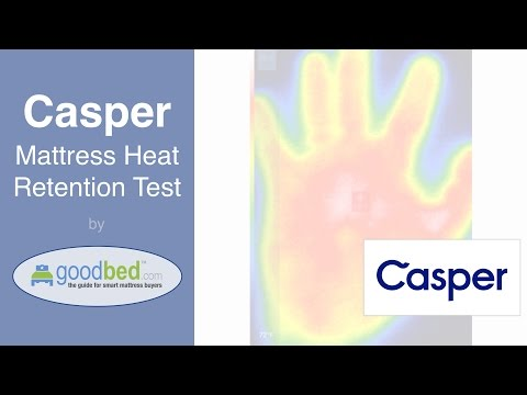 Casper Mattress Heat Retention Test (VIDEO)