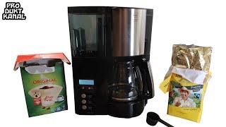 ⭐ Melitta Optima Timer Kaffeemaschine 100801 - Wir kochen einen Kaffee