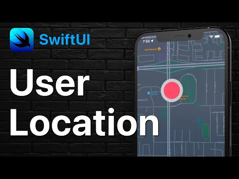 SwiftUI User Location on a Map   MapKit & CoreLocation thumbnail