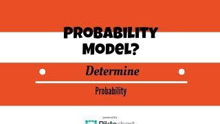 Determine whether it is a probability model given outcomes