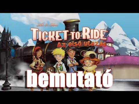 Ticket to Ride: Az első utazás - társasjáték bemutató - Jatszma.ro