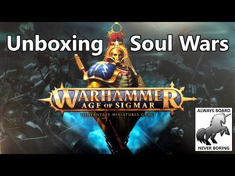 Unboxing Soul Wars