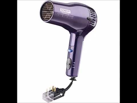Conair Ionic Conditioning 1875 Watt Cord Keeper Hair Dryer w  Retractable Cord and Folding Handle