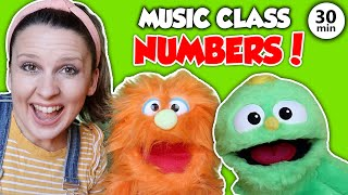 Preschool Music and Movement Class - Number Songs, Counting, Dance and Learning Videos for Kids
