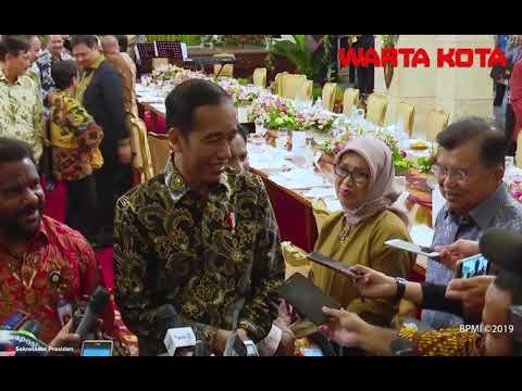 Presiden Jokowi Sebut Tiap Hari Spesial Saat Bekerja Sama dengan Menteri Kabinet Kerja