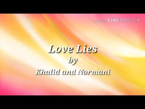 Love Lies Lyrics Clean - Khalid and Normani