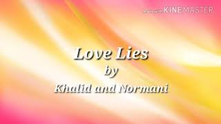 Love Lies Lyrics Clean   Khalid And Normani