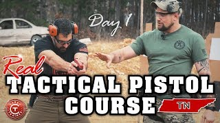 Tactical Pistol Course | Dover, TN   Day 1
