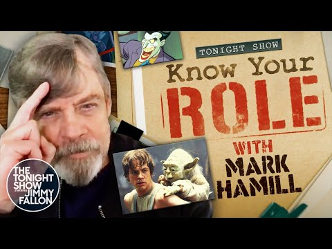 Know Your Role with Mark Hamill(Extended) | The Tonight Show Starring Jimmy Fallon