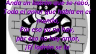 Ladron De Amor - Alex Wayne Lyrics/Letra