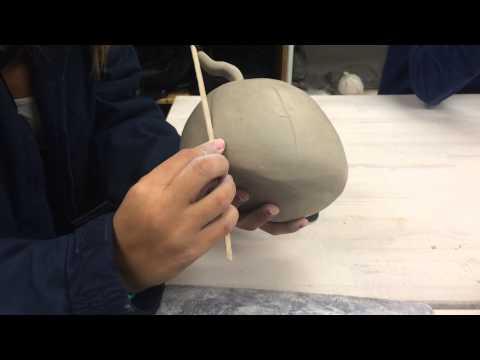 Pinch Pot Pumpkin Tutorial