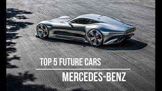 Top 5 samochodów przyszłości Mercedes-Benz