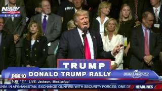 FNN: Donald Trump Rally Speech - Jackson, Mississippi 8/24/16