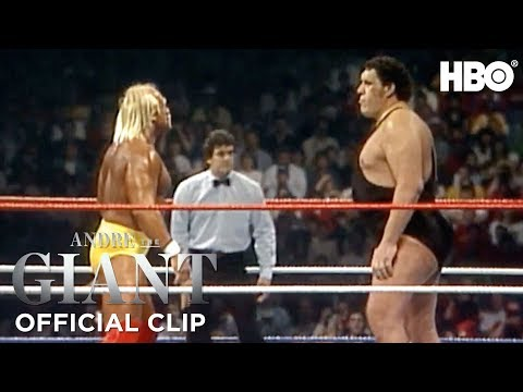 Hulk Hogan vs. Andre The Giant WrestleMania III WWE' Official Clip   Andre The Giant   HBO