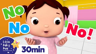 No No No! Wash Hands +More Nursery Rhymes and Kids Songs | Little Baby Bum