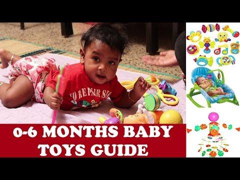 0-6 மாதக்  குழந்தைகளுக்கு எப்படிப்பட்ட பொம்மைகள் வாங்குவது  0-6 MONTHS BABY TOYS GUIDE