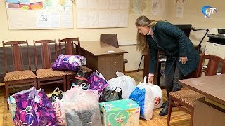В Великом Новгороде собирают гуманитарную помощь для пострадавших от подтоплений в районах