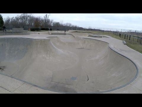 Mchenry Skatepark Walk Through