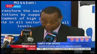 Kenya Integrity Alliance lists politicians like Mike Sonko and Anne Waiguru unfit for public office