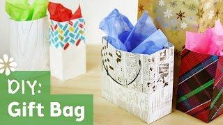 How To Make A Gift Bag | Sea Lemon