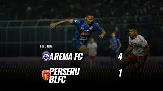 [Pekan 9] Cuplikan Pertandingan Arema FC Vs Perseru Badak Lampung FC, 16 Juli 2019