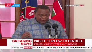 President Uhuru thanks security officers, medical practitioners for efforts during this period