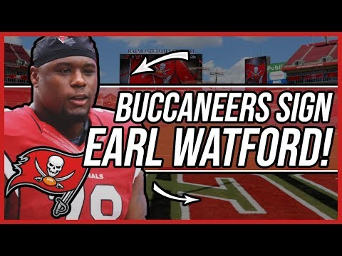 Tampa bay buccaneers SIGN Earl Watford to a 1 year Deal! Will he compete for the RG spot?
