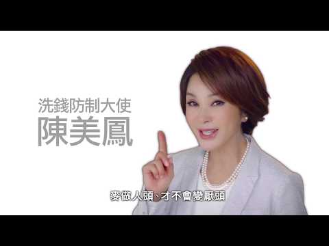 洗錢防制─客戶審查 銀行把關 洗錢防制大使 陳美鳳